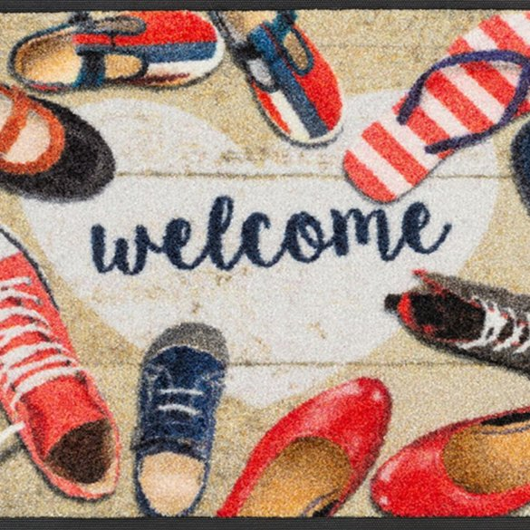 Shoes-welcome